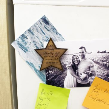 Personalised My Teacher Is A Star Fridge Magnet